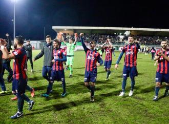 Il Taranto vince a Bitonto e sale in vetta
