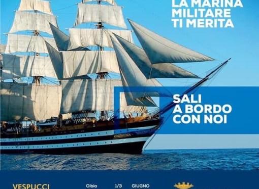 Arriva il Vespucci, la Marina italiana fa festa a Taranto