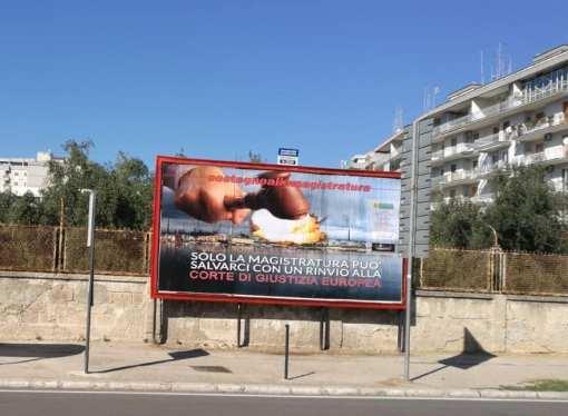 Sostegno (e appello) alla magistratura, nuovo manifesto ambientalista per le strade di Taranto