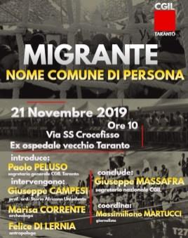 Manifesto 21 novembre 2019
