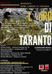 Manifesto L'oRO di Taranto