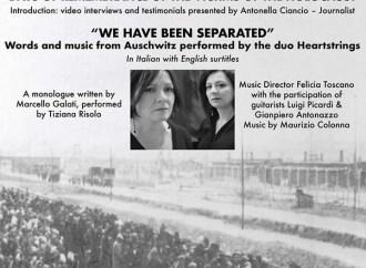 Monologo sull'Olocausto a Washington DC dell'attrice tarantina Tiziana Risolo
