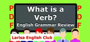 What is a Verb PDF