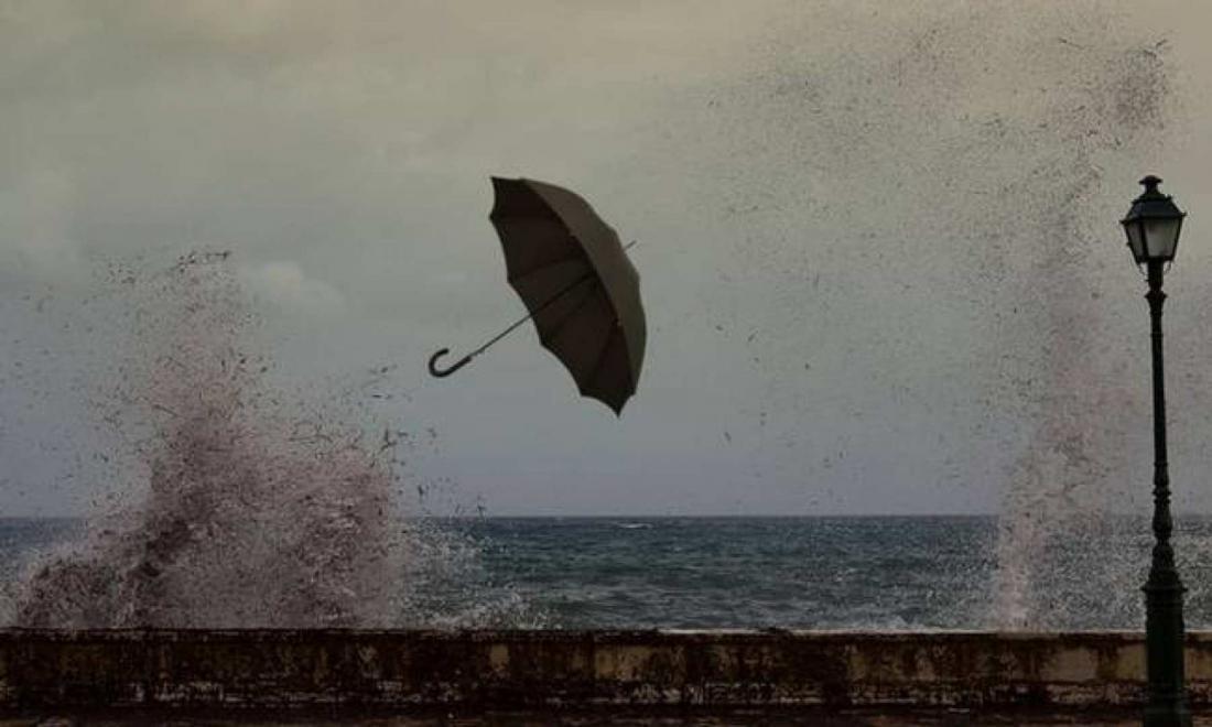 Βροχές και καταιγίδες σήμερα- Ισχυροί άνεμοι και πτώση της θερμοκρασίας