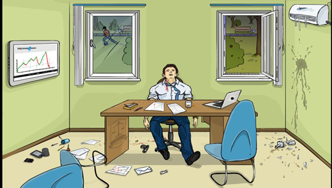 Λύσε τον γρίφο μέσα σε 30 δευτερόλεπτα: Φόνος ή αυτοκτονία;