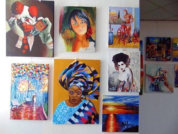 Εγκαίνια έκθεσης ζωγραφικής τμημάτων ενηλίκων