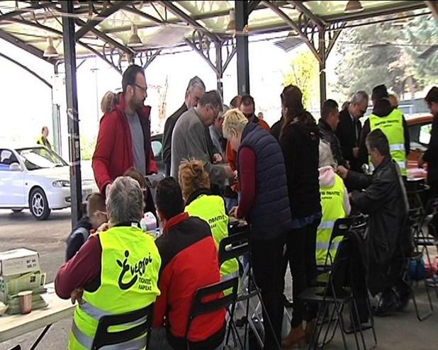 Oι Ενεργοί Πολίτες διέθεσαν προϊόντα για το Πασχαλινό τραπέζι