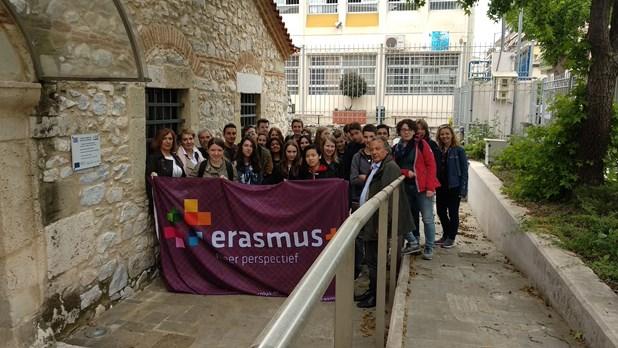 Στο Μουσείο Εθνικής Αντίστασης μαθητές απο Ελασσόνα και Ολλανδία
