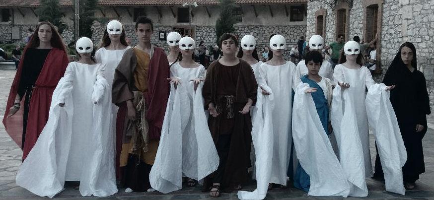 """Οι έφηβοι στην αρχαία Τραγωδία. """"Προμηθέας Δεσμώτης"""" στο Κηποθέατρο Αλκαζάρ"""