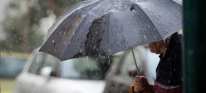 Αστατος και σήμερα ο καιρός -Βροχές και καταιγίδες