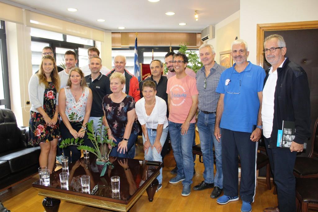 Στο Δημαρχείο Λάρισας Γερμανική αντιπροσωπεία και ενημέρωση για τον αθλητισμό