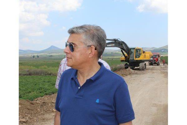 Αγοραστός για έργα Ελασσόνας: «Στηρίζουμε έμπρακτα των πρωτογενή τομέα με έργα υποδομής»