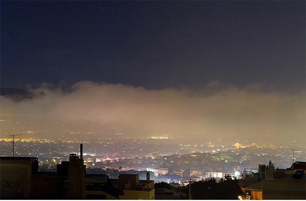 Η αιθαλομίχλη επέστρεψε στη Λάρισα