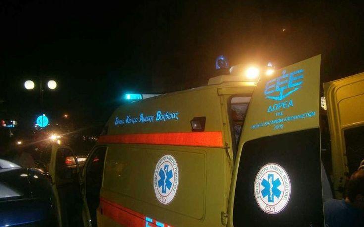 Στο νοσοκομείο ένας οδηγός μετά από τροχαίο στον Αγιόκαμπο