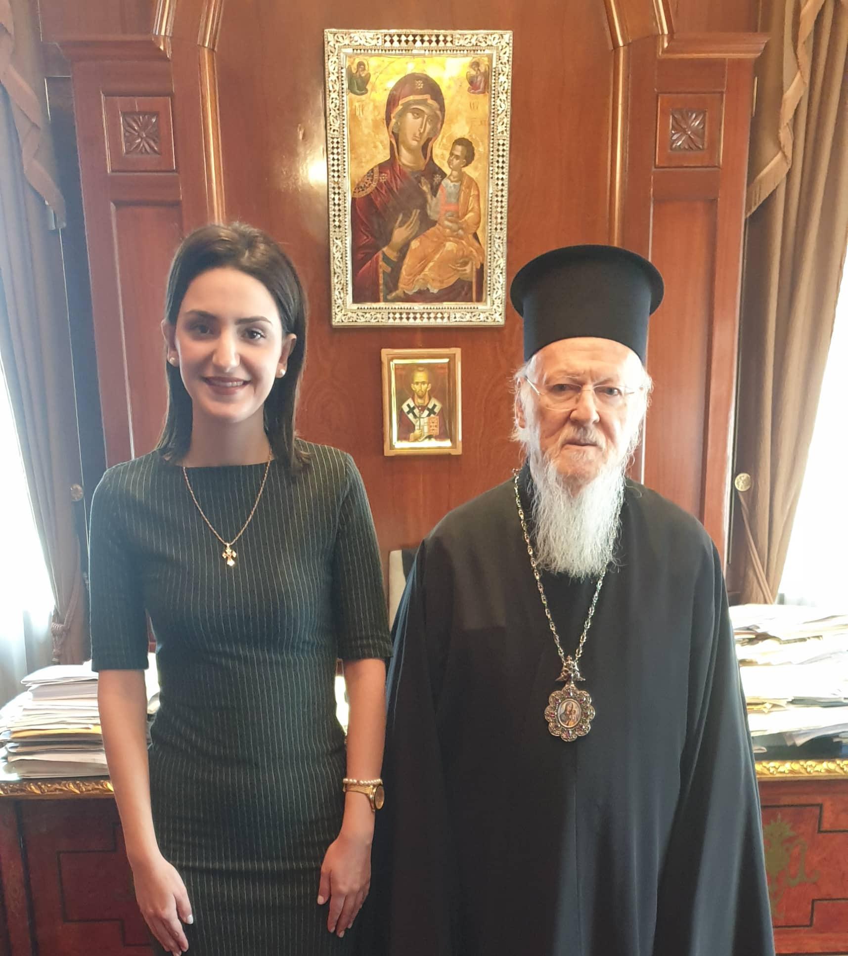 Επίσκεψη Λαρισαίας στο Φανάρι στον Παναγιώτατο Οικουμενικό Πατριάρχη Βαρθολομαίο (Φώτο)