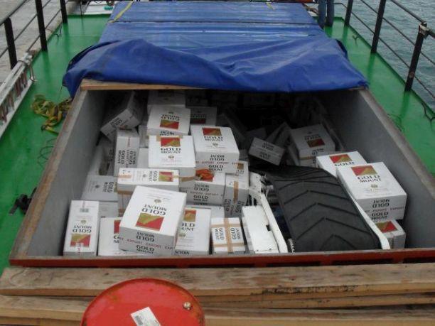 Συλλήψεις για λαθραία τσιγάρα