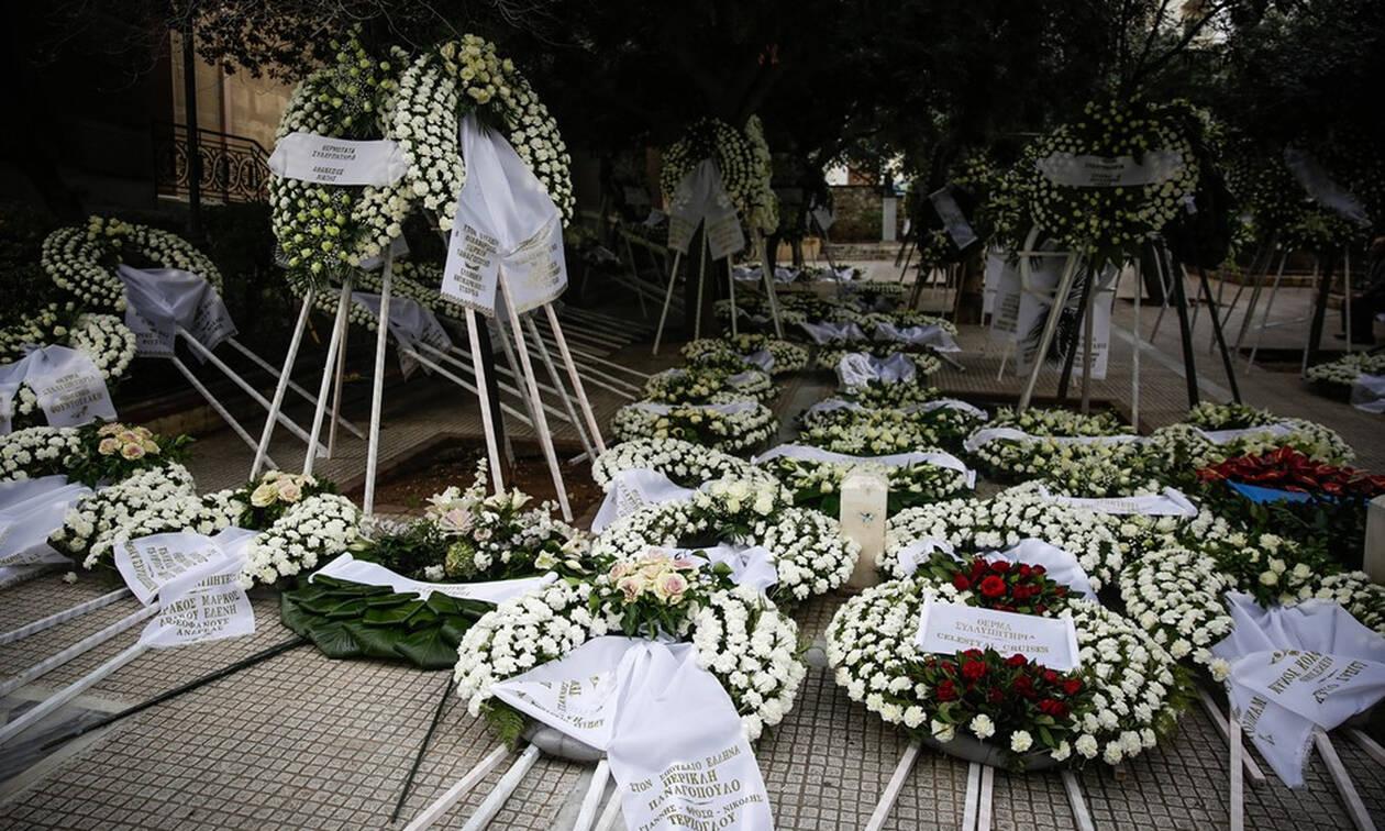 Κηδεία Περικλή Παναγόπουλου: Θλίψη στο τελευταίο «αντίο»(pics)