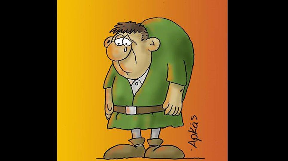 Ένα συγκινητικό σκίτσο, που δείχνει τον γνωστό μας από την «Παναγία των Παρισίων» Κουασιμόδο να δακρύζει για την φλεγόμενη Νοτρ Νταμ, δημοσίευσε ο Αρκάς στη σελίδα του στο Facebook.  Δείτε το σκίτσο: