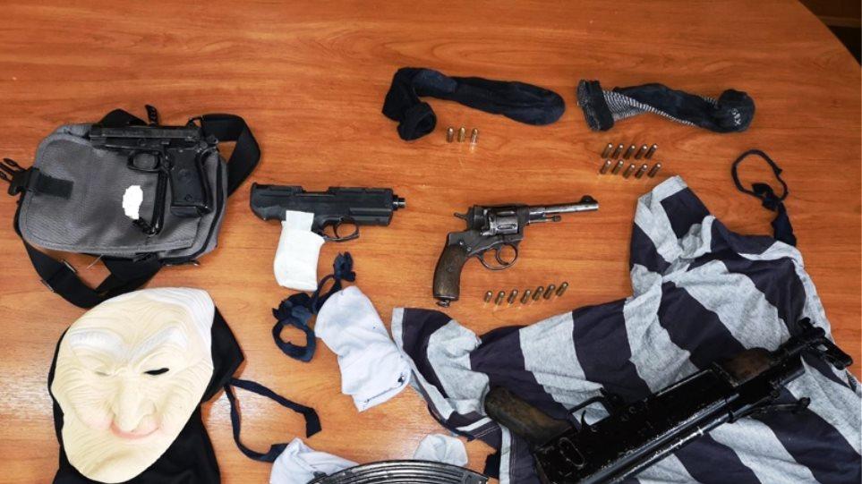 Εξαρθρώθηκε συμμορία που διέπραξε πάνω από 9 ένοπλες ληστείες
