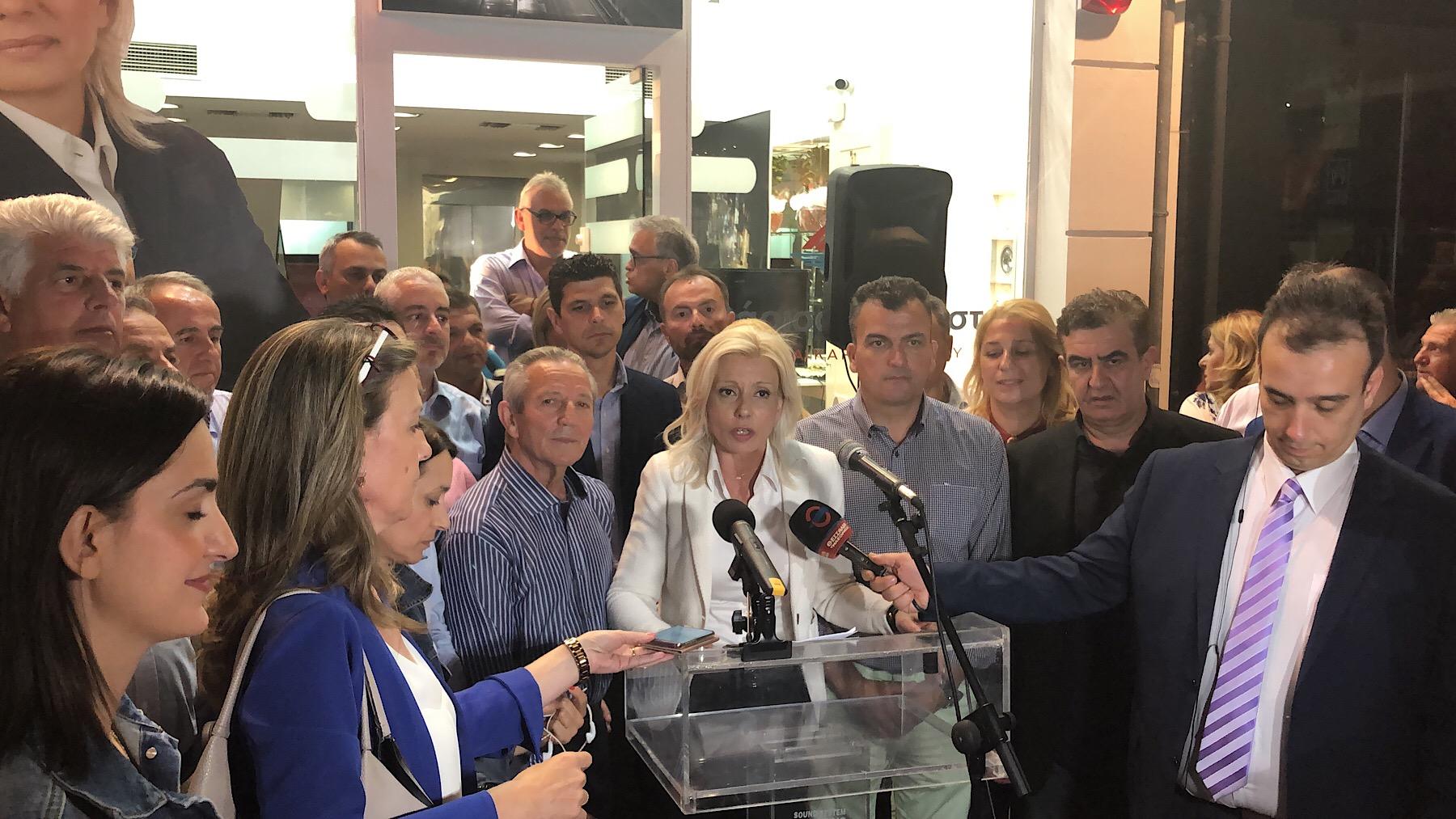 Ρένα Καραλαριώτου: Καλώ τους πολίτες να βάλουν το συμφέρον της πόλης πρώτα και πάνω από όλα (Φώτο)