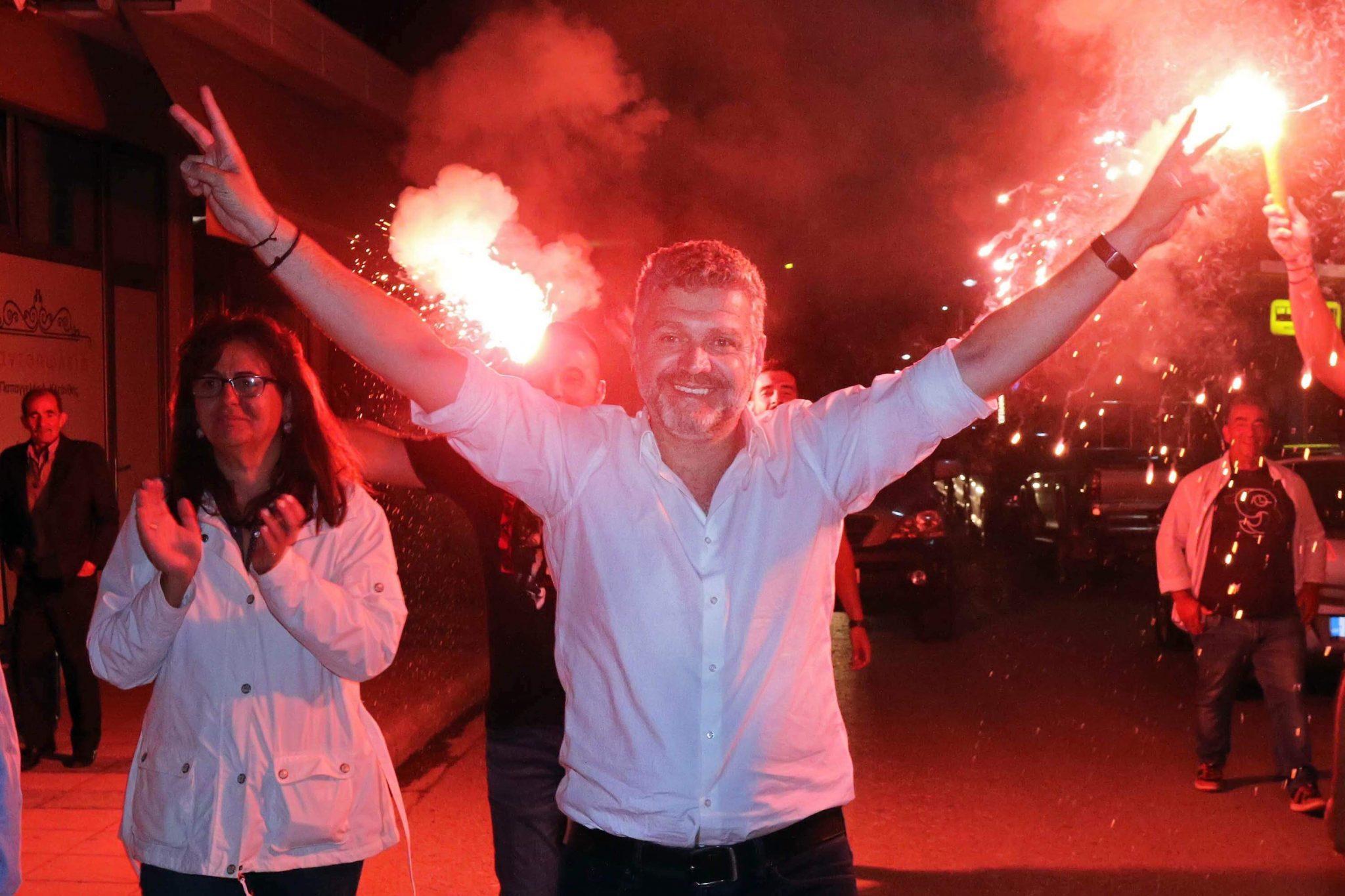 Εκλέγεται και πάλι δήμαρχος Αγιάς ο Αντώνης Γκουντάρας (ΦΩΤΟ)