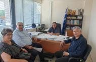 Περιοδεία υποψήφιων βουλευτών ΣΥΡΙΖΑ-Προοδευτική Συμμαχία Λάρισας στο Αμαξοστάσιο του Δήμου Λάρισας, στον ΕΛΓΑ, στον ΟΠΕΚΕΠΕ και στο ΚΕΣΥΠ Λάρισας