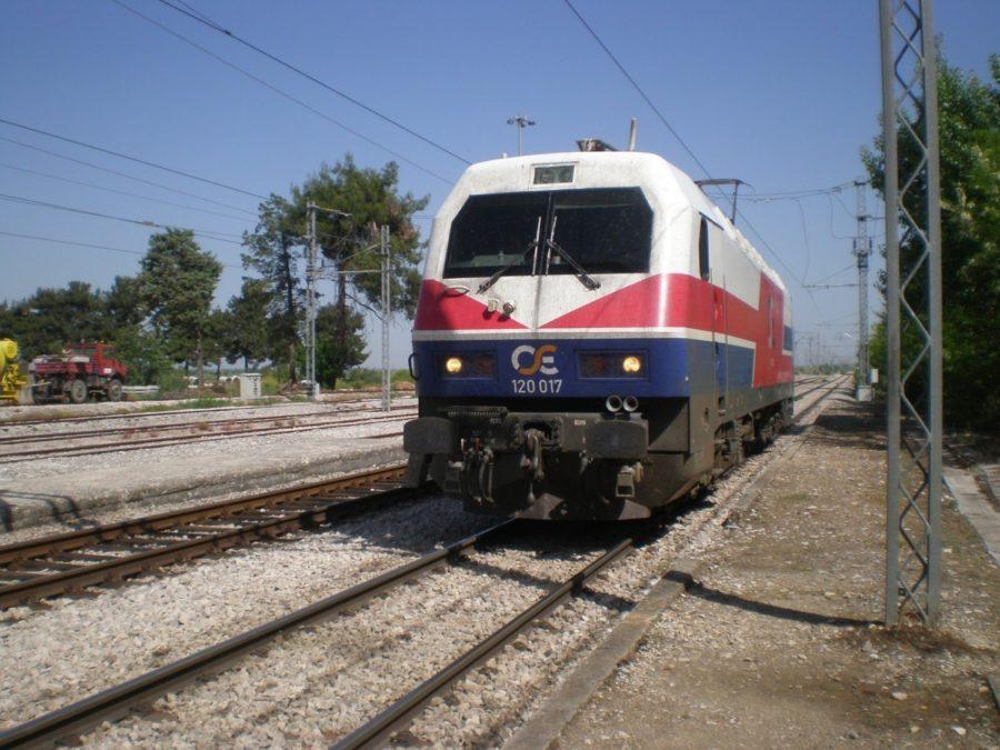 Ακινητοποιήθηκε τρένο από Θεσσαλονίκη στη Λάρισα! Παρέσυρε σκύλο