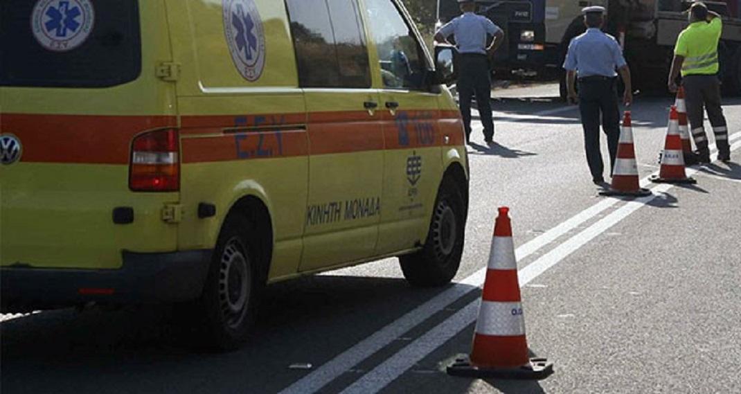 Τροχαίο στη Νίκαια Λάρισας: Σύγκρουση αυτοκινήτων με τραυματία