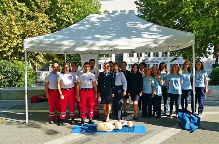 Λάρισα: Γιόρτασε το Περιφερειακό Τμήμα Λάρισας του Ελληνικού Ερυθρού Σταυρού την Παγκόσμια Ημέρα Πρώτων Βοηθειών (Φώτο)