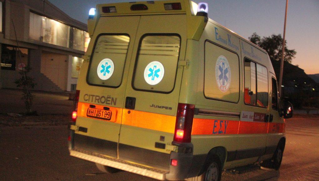 Στο Νοσοκομείο του Βόλου 23χρονος δικυκλιστής που τραυματίστηκε σε τροχαίο