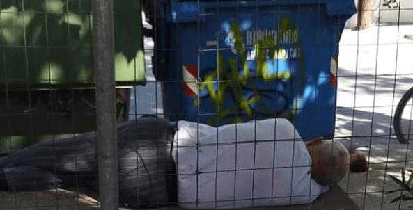 Δεν αντιμετωπίζει προβλήματα επιβίωσης ο Λαρισαίος που βρέθηκε να τρώει από τα σκουπίδια στη Λάρισα… Τι λέει ο δήμος