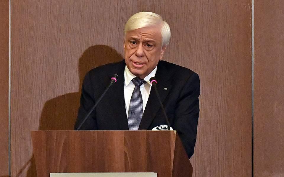 Π. Παυλόπουλος: Παράγοντες ασφάλειας, σταθερότητας και ειρήνευσης να αναδειχθούν Ελλάδα και Ισραήλ