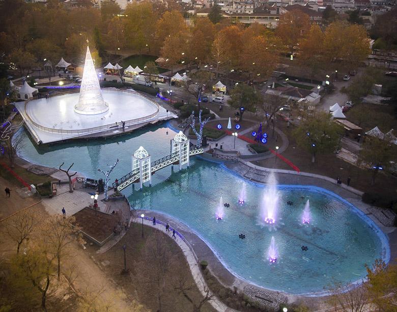 Εντυπωσιάζει το βίντεο του Δήμου Λαρισαίων από την έναρξη του Πάρκου των ευχών