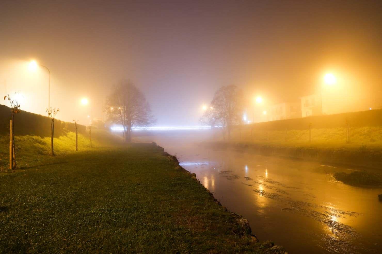 Τα Τρίκαλα… πιο όμορφα από ποτέ, μέσα στην ομίχλη (φώτο)