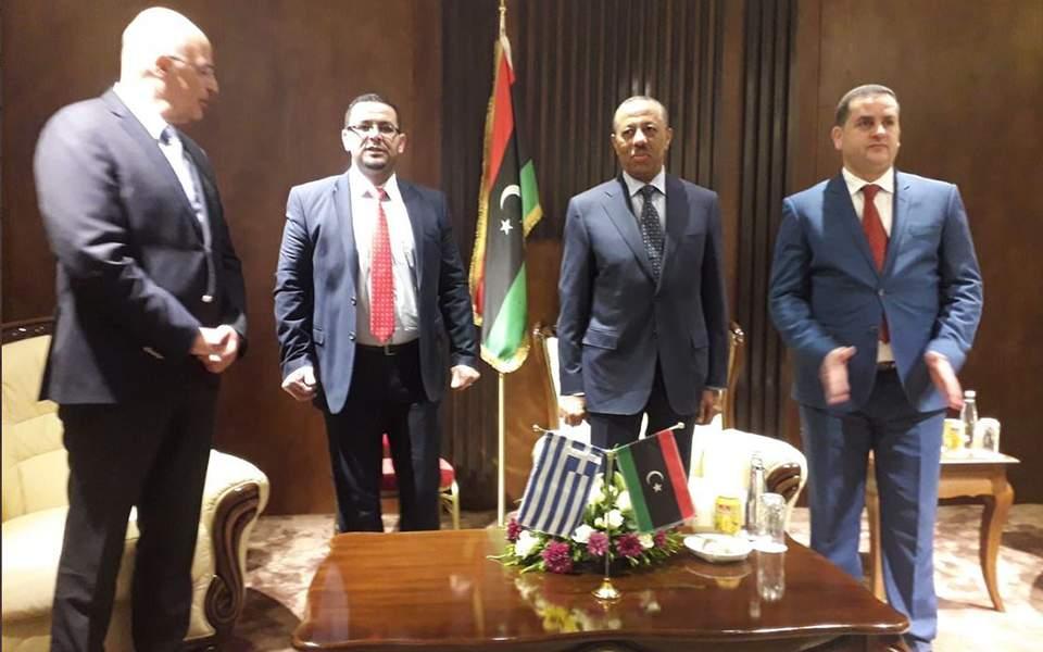 Στη Λιβύη ο Νίκος Δένδιας