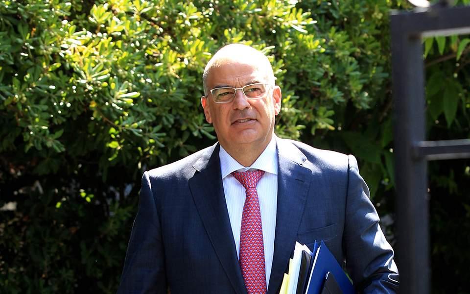 Στις Βρυξέλλες για το Συμβούλιο Εξωτερικών Υποθέσεων ο Ν. Δένδιας