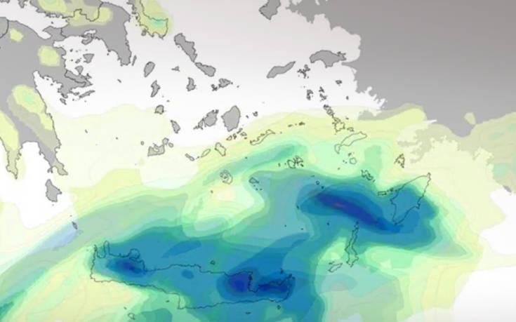 Καιρός: Αφρικανικό χαμηλό φέρνει σκόνη και βροχές