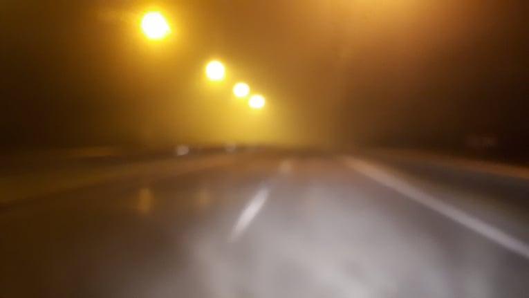 Πυκνή ομίχλη τα ξημερώματα στην ε.ο. Λάρισας - Τρικάλων - Με δυσκολία η κίνηση των οχημάτων
