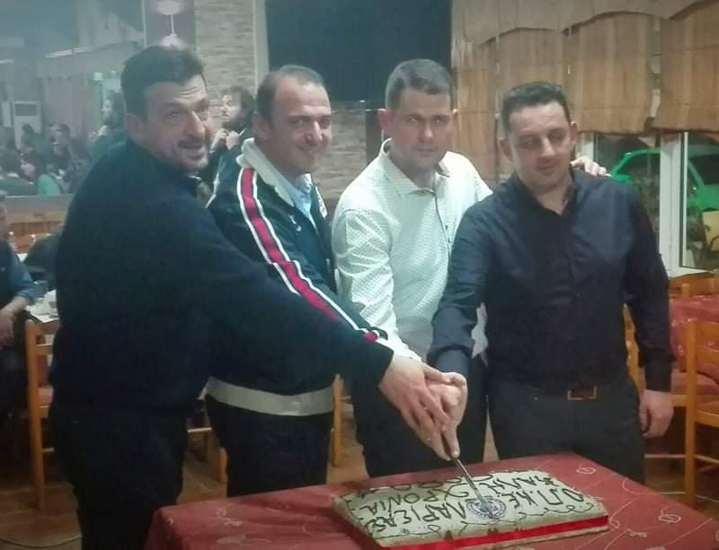 Οι αστυνομικοί της ΟΠΚΕ Λάρισας έκοψαν την πρωτοχρονιάτικη πίτα (ΦΩΤΟ)