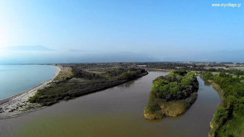Η γη σαν ζωγραφιά – Εκεί που ο Πηνειός συναντά το Αιγαίο (pics – video)