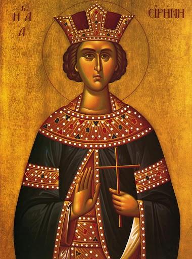 5 Μαίου – Μεγάλη γιορτή της Ορθοδοξίας – της Αγίας Ειρήνης της Μεγαλομάρτυρος