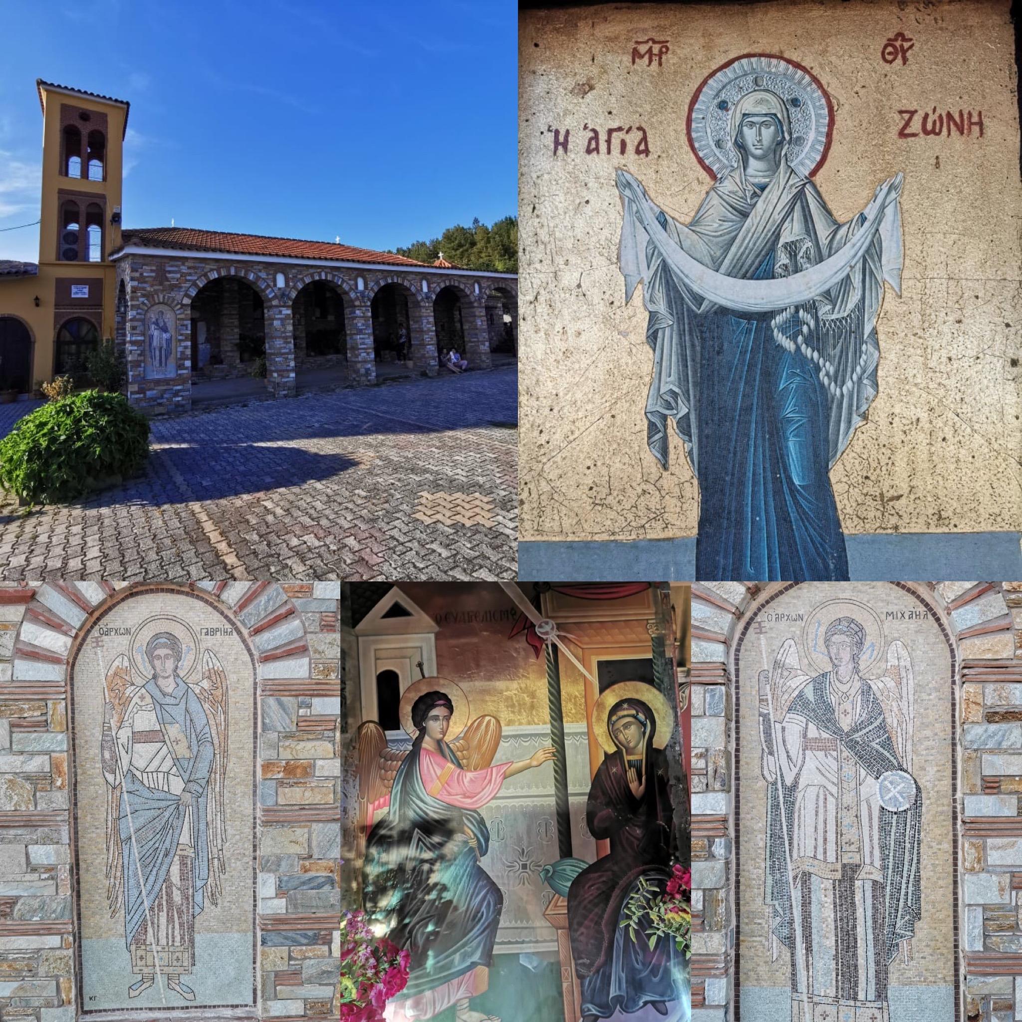 Λάρισα: Η Θαυμαστή Εικόνα της Παναγίας στο Γερακάρι Αγιάς  (ΒΙΝΤΕΟ - ΦΩΤΟ)