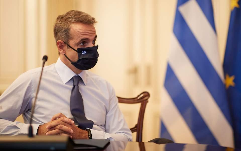 Κορωνοϊός: Μήνυμα του πρωθυπουργού κατά του εφησυχασμού