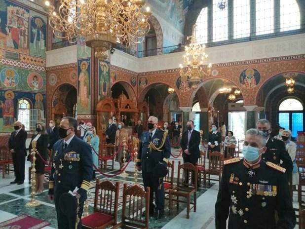 Λάρισα: Πραγματοποιήθηκε στον Αγ.Αχίλλιο η Δοξολογία της Επετείου της 28ης Οκτωβρίου