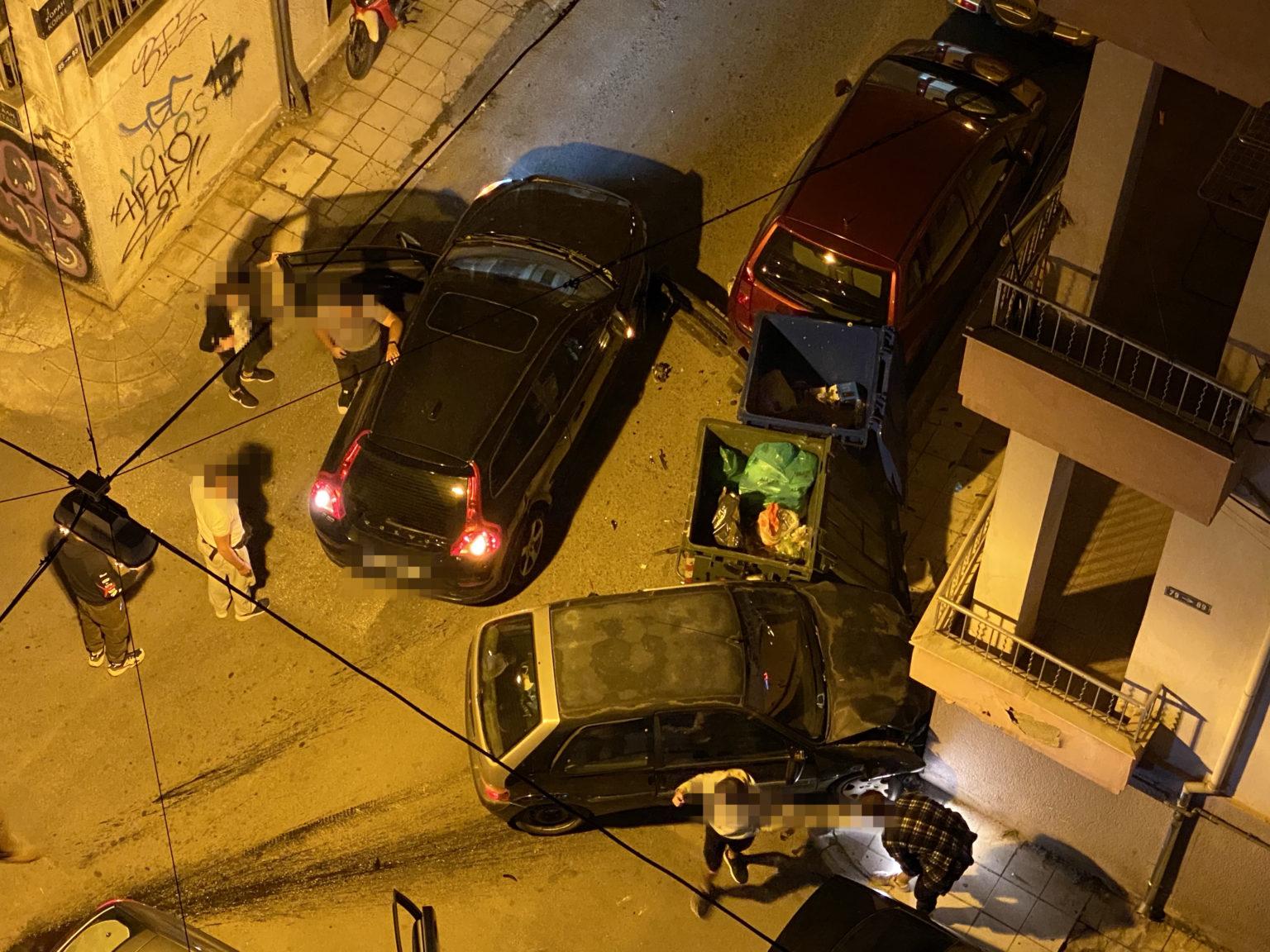 Σοβαρό τροχαίο ατύχημα στο κέντρο του Βόλου