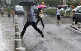 Σταδιακή εξασθένιση των βροχών και των καταιγίδων