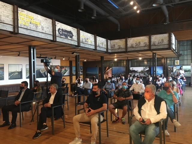 """Με μεγάλη επιτυχία ξεκίνησαν χθες οι εκδηλώσεις του ευρωπαϊκού προγράμματος """"EUchangesThessaly"""" στον Πολυχώρο Θεσσαλία στη Λάρισα"""