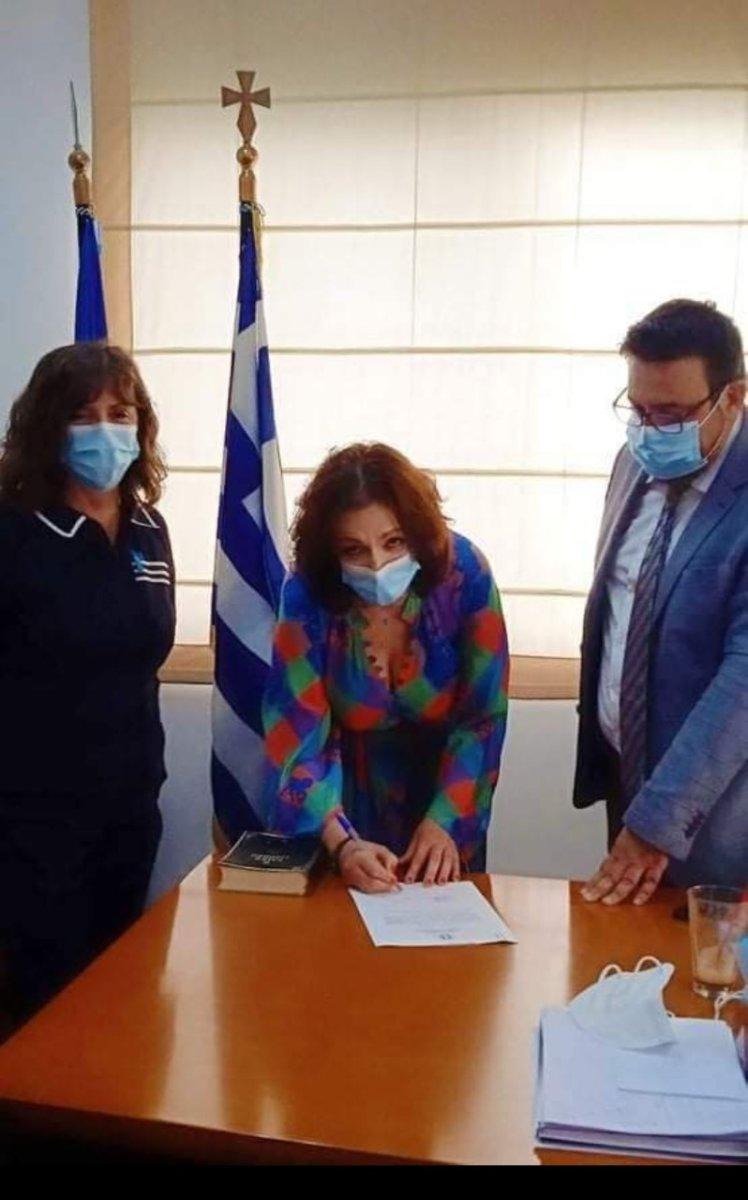 Ορκομωσία νοσηλεύτριας στο ΓΝ Λάρισας