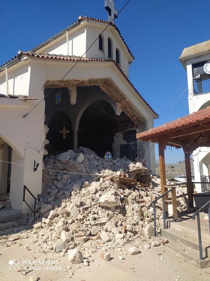 Λάρισα: Έρχονται οι αποκαταστάσεις σε ναούς που «χτυπήθηκαν» από τον σεισμό