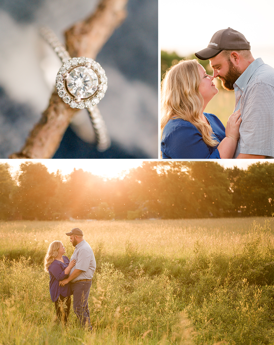Iconic Iowa countryside engagment photography session!